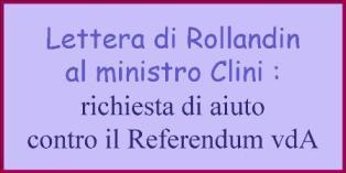 lettera Rollandin - Clini